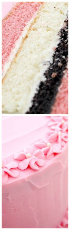 Neapolitan Layer Cake Recipe