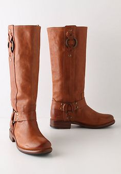 Russet Tinge Boots -from Anthropologie - My wife would look great in these.
