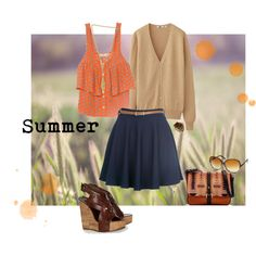 Summer Inspired, created by kamababus on Polyvore