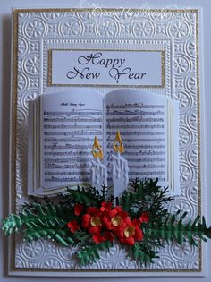 Baukje's Cards and Crafts: Happy New Year