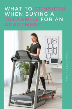 Can a Treadmill be used in an Apartment? The short answer is yes, most of the time it is possible to have a treadmill in your apartment, but definitely check with your landlord or lease contract before making such a big investment. However, the answer is not always so cut and dry, as there are a multitude of other things to consider like space, vibration, quiet hours, possible damages, and the list goes on. Jogging For Beginners, Running Plan, Running For Beginners, Running Tips, 5k Training Plan, Strength Training For Runners, Running On Treadmill, Winter Running