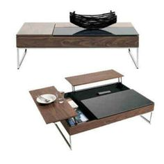 Small Space Solutions from BoConcept: Multifunctional Furniture Smart Furniture, Space Saving Furniture, Table Furniture, Home Furniture, Furniture Design, Multifunctional Furniture Small Spaces, Trendy Furniture, Furniture Removal, Wooden Furniture