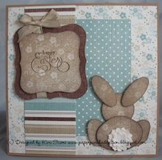 bunny behind designed by Kim Score
