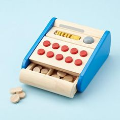 Dang, which cash register, this one has wooden coins and an abacus I really like. $44