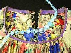 Silk dress and beads