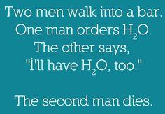 H2O2 - Monday joke