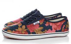 Flannel floral vans