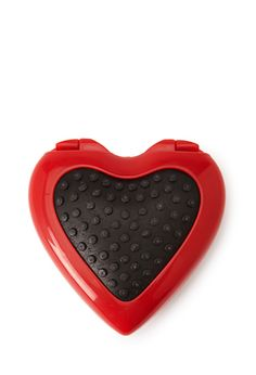 Heart-Shaped Compact | Forever 21 - 1000054021