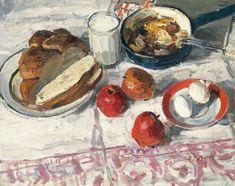 Kozlov Engels. Breakfast. 1965.