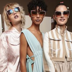 SUNGLASSES: The search for the perfect pair is ON but what will be your style this summer? #Instyleshops #Sunglasses2017 #FendiSunglasses  via INSTYLE UK MAGAZINE OFFICIAL INSTAGRAM - Fashion Campaigns  Haute Couture  Advertising  Editorial Photography  Magazine Cover Designs  Supermodels  Runway Models