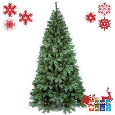 Ο απόλυτος κυρίαρχος της Χριστουγεννιάτικης διακόσμησης, το κέντρο της προσοχής! 👑 Ένα Χριστουγεννιάτικό #δέντρο Tiffany είναι η απόλυτη επιλογή για φέτος! 🎄 Αποκτήστε το από το #MySeason για εντυπωσιακά #Χριστούγεννα. 🎅🎁