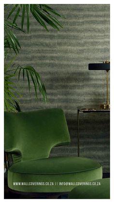 Room Wallpaper, Wallpaper Ideas, Living Room, Chair, Furniture, Home Decor, Decoration Home, Room Decor, Home Living Room