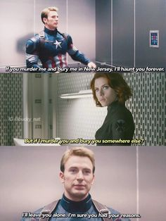 Steve is a true New Yorker. [HIMYM + Marvel]