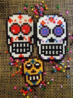 {Halloween} Déco en perles Hama! Moma le Blog