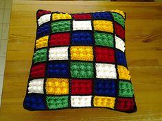Lego Block pattern by Eva Ferrebee