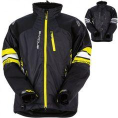 Arctiva Snow Snowmobile Men/'s 2018 PIVOT Insulated Gloves Black//Yellow XL