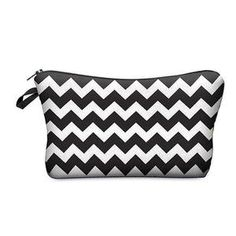 PRINTED MAKEUP BAG-AQUALUZZA - classy makeup bag, store your beauty tools in style.#makeupbag