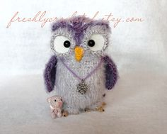 owl with teddy bear | Flickr - Photo Sharing!