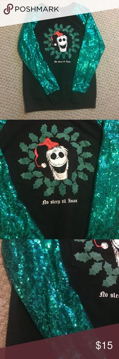 NUOVO Jack Skeletron Nightmare Before Christmas Cardigan Wrap Sweater per le donne