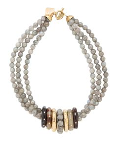 Pete Labradorite Necklace - Necklaces - Ashley Pittman - Fashion Jewelry