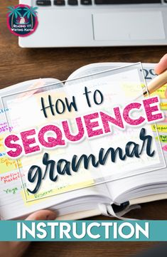 Wondering how to sequence grammar instruction? Read about one approach that works for secondary ELA. #highschoolela #grammarsequence
