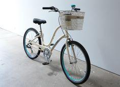 Dress Your Bike | Townie Original 7D in Cream with Cream QR Basket