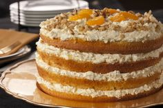You don't have to be a millionaire to feel like a million bucks when you serve this decadent recipe for Milliionaire's Cake. It's got layer upon layer of creamy goodness that willl be the hit of dessert time!