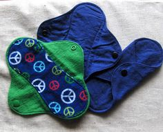 Cloth Feminine pads by Montana Solar Creations