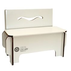 chair in recycled paper for baby #ecogreen