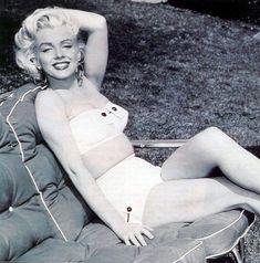 Marilyn Monroe, por Mischa Pelz, 1953