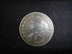 Lot 139: Stunning 1817 Bust Liberty Half Dollar - Chumney House Auctions, LLC | AuctionZip