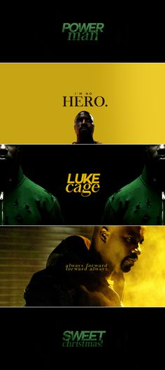 Luke Cage: People are scared… but they can't be paralysed by that fear. You have to fight for what's right every single day, bulletproof skin or not.