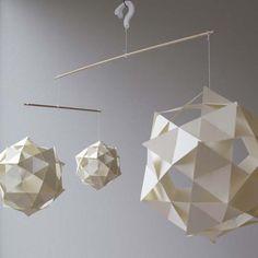 via CelestialVisions on Etsy Origami Lamp, Origami Paper Art, Diy Origami, Paper Crafts, Lite Brite, Paper Cutting, Cool Designs, Crafty, Creative