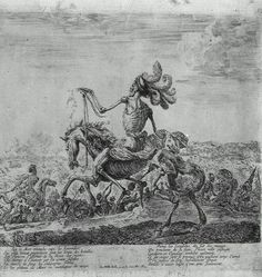 Death on a Battlefield Stefano della Bella, c. 1646-48