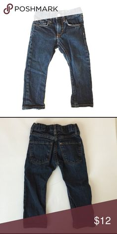 H&M dark blue skinny denim jeans 18-24m Great condition. Adjustable waistband. Bundle to save 25%! H&M Bottoms Jeans