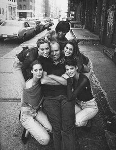 Peter Lindbergh et les mannequins des années 90: Christy Turlington, Cindy Crawford, Naomi Campbell, Linda Evangelista