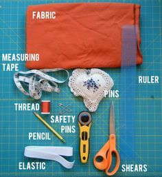 Tutorial: Sew a super simple skirt - Sewing 101 for beginners.