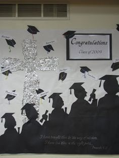 High+School+Graduation+Bulletin+Boards | KeepsakeSewing: Graduation Bulletin Board