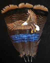 Feather Painting - Eagle