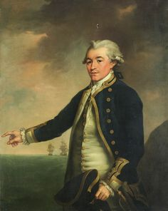 """Portrait of Captain Peacock"", by John Francis Rigaud - 1780"