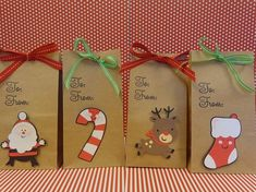 Christmas Goo And Treat Bags Natural Bag By Thepirbir 18 00