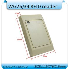 12.26$  Buy here - http://aliayk.shopchina.info/go.php?t=1665025674 - Free shipping  13.56MHZ MF1 IC card Reader Reliablecontactless reader IC Card Reader wiegand26/34 S50  Card Reader +10pcs card  #aliexpress