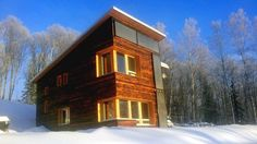 This house forgoes fossil fuels and uses sun, water, and wood to fight off Alaska's brutal winters