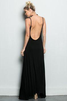 Poetica Backless Maxi Dress