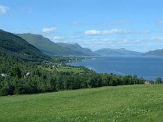 Syvde, Norway  - Looking from Nordvik to Syvde