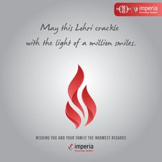 May this Lohri crackle with the light of a million smiles! #HappyLohri #ImperiaStructures