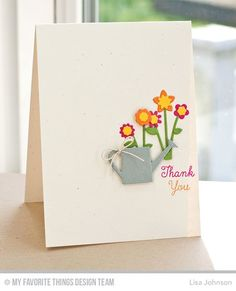 You're the Sweetest, Spring Garden Die-namics - Lisa Johnson  #mftstamps
