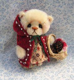 Juliana Miniature Mini Teddy Bear by Nancy McNally OOAK