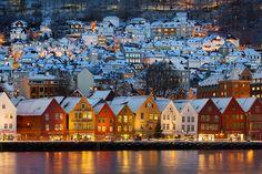 Bergen, Norway. A wonderful city.