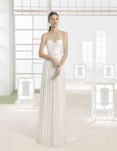 Wählen Sie eines dieser gerade geschnittenen Brautkleider 2017 und überraschen Sie Ihre Hochzeitsgäste